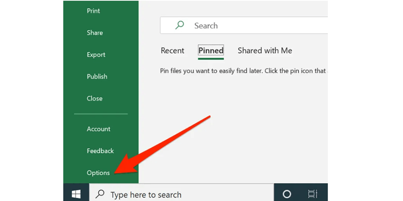 disable add in in excel 1