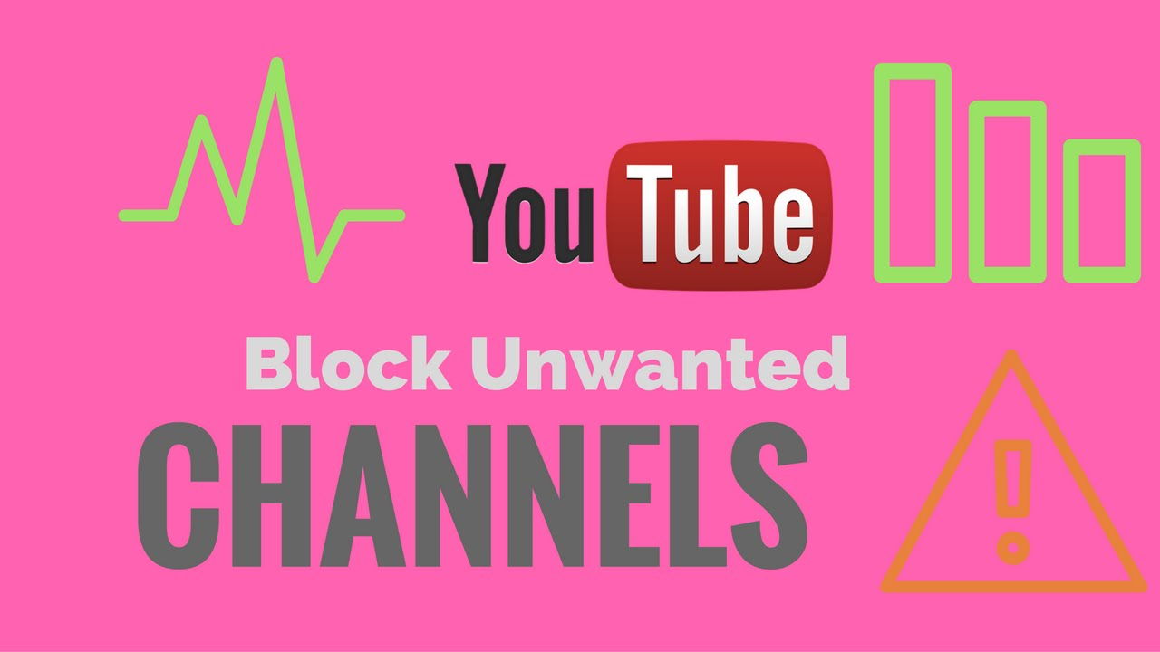 How to block unwanted videos or Channels from YouTube Homepage in google  Chrome - YouTube