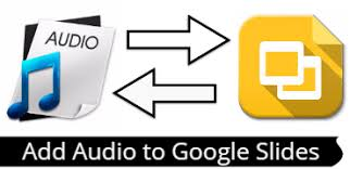 Image result for how to add audio to google slides